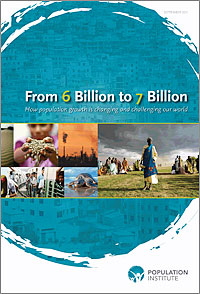 """From 6 Billion to 7 Billion"" report cover"